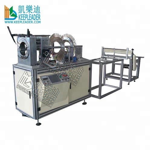 Plastic Cylindrical box forming machine