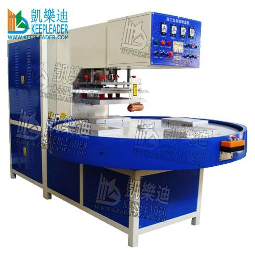 Turntable high frequency welding machine