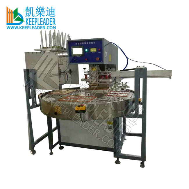 Automatic Clamshell Blister Sealing Machine for PVC Clamshell_Blister Packing High Frequency Sealing of Rotary HF Blister Welder